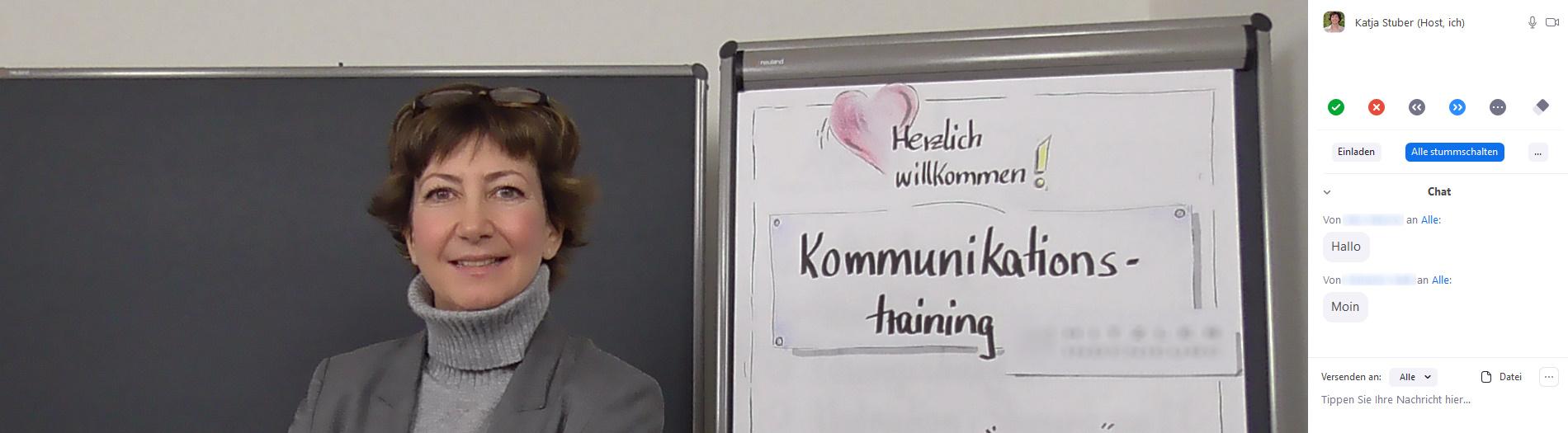 Katja Stuber - Onlinetraining